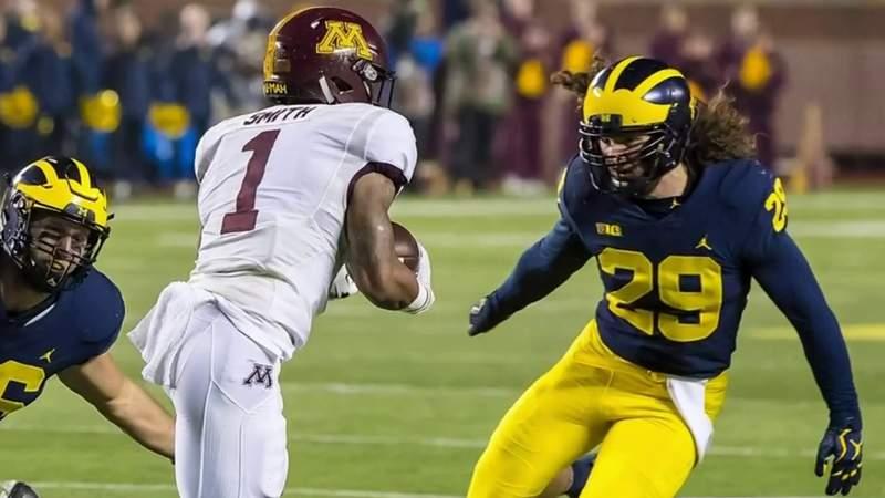 Benched: Michigan linebacker Jordan Glasgow on NFL draft changes
