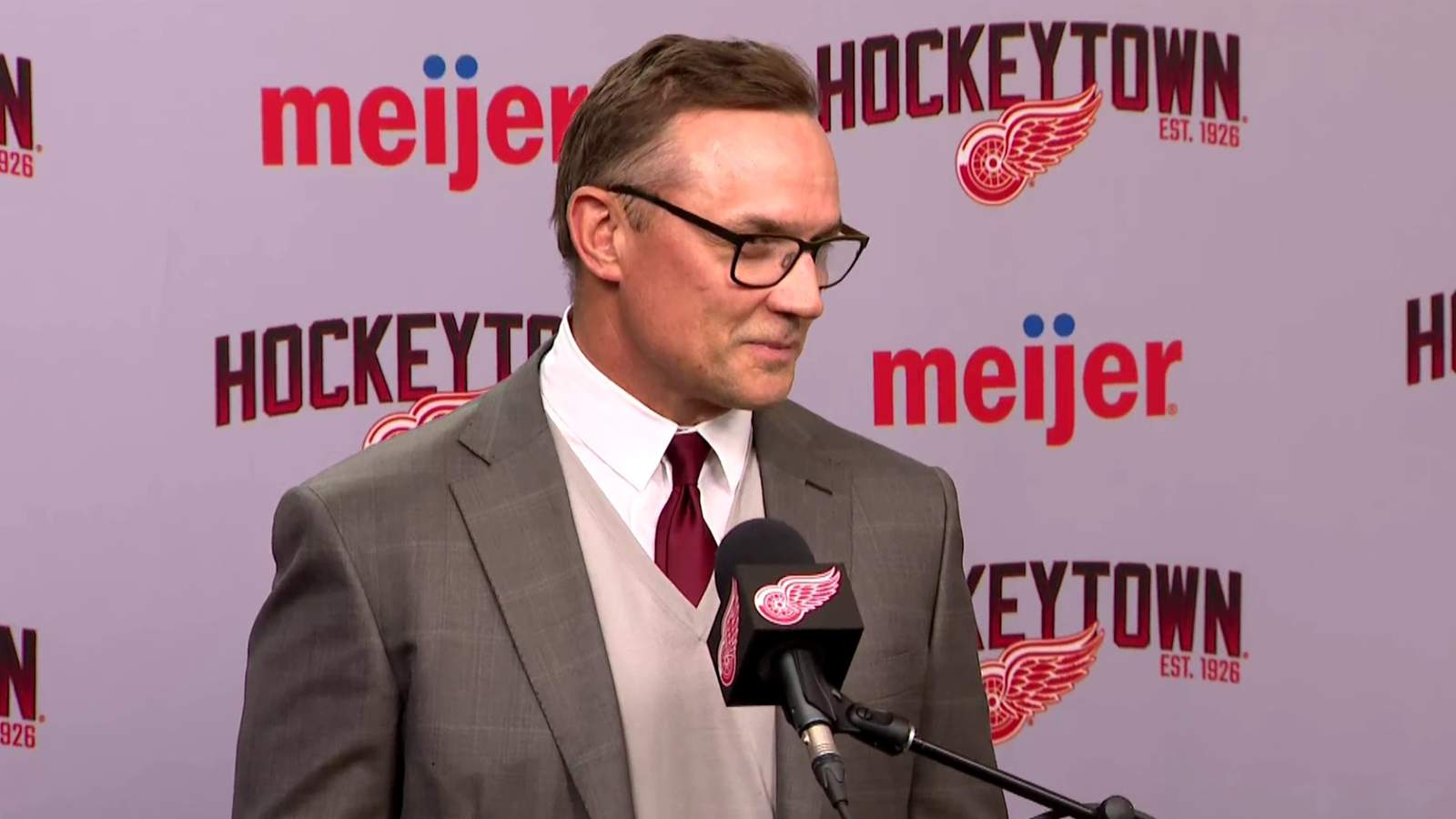 9 things Yzerman said about Red Wings after trade deadline
