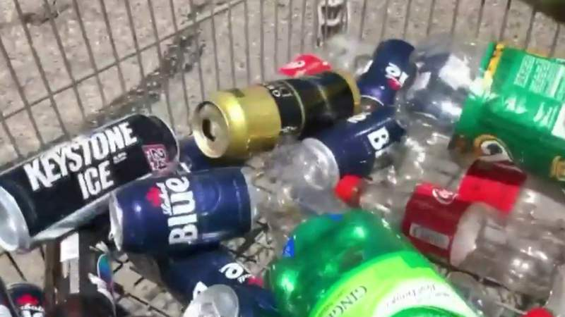 Hundreds of Metro Detroiters line up to return months' worth of bottles, cans