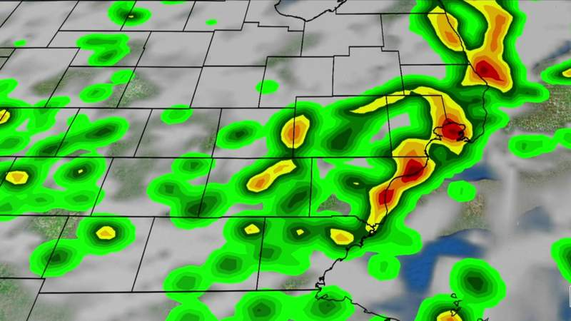 Metro Detroit weather: Wet pattern continues Sunday night, Aug. 2, 2020, 11 p.m. update