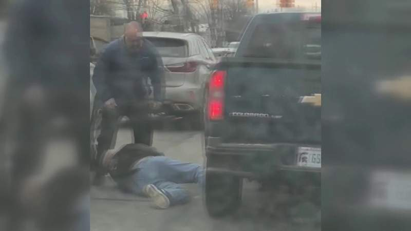 Man run over during Troy road rage