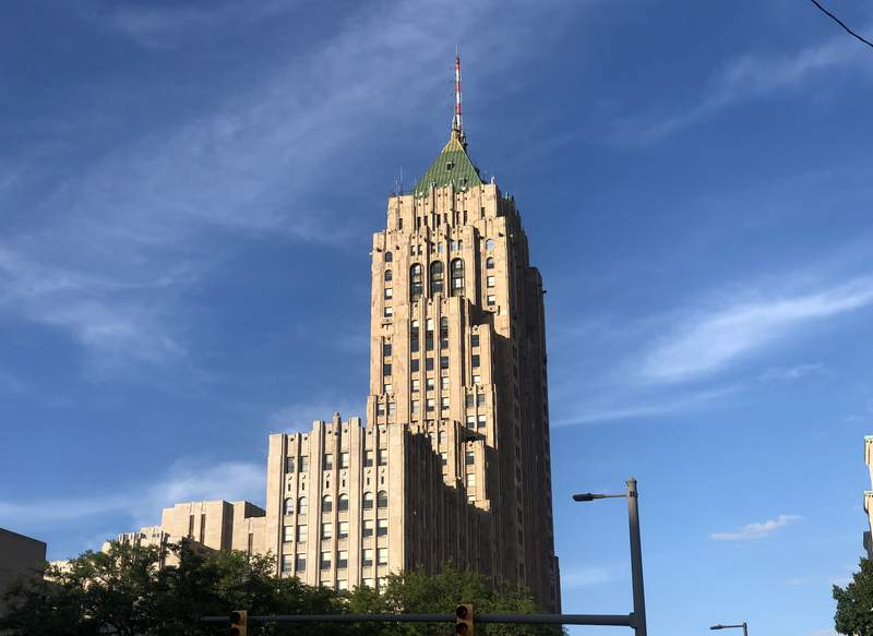 Fisher Building in Detroit.