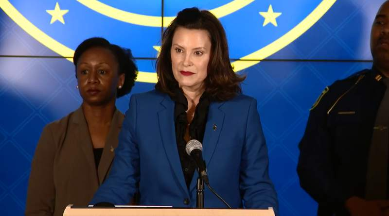 Gov. Whitmer holds press conference after first cases confirmed (WDIV)