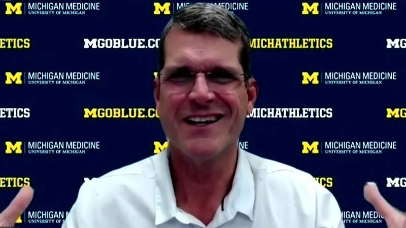 Jim Harbaugh praises Ben Mason after Michigan football's win over Minnesota