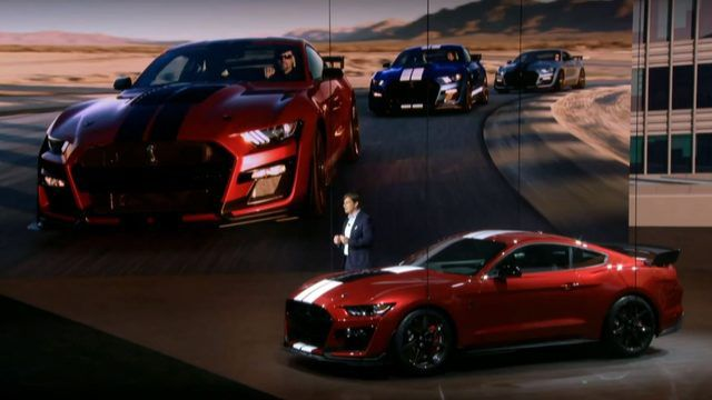 2020 Detroit Auto Show Debuts.Ford Debuts 2020 Mustang Shelby Gt500 At 2019 Detroit Auto Show