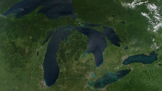 NASA satellite image
