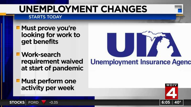 Unemployment changes begin Sunday, May 30