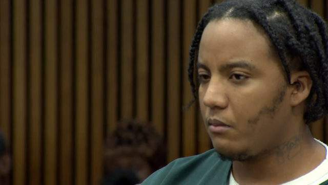 Exel Taylor at his sentencing on Sept. 13, 2018. (WDIV)