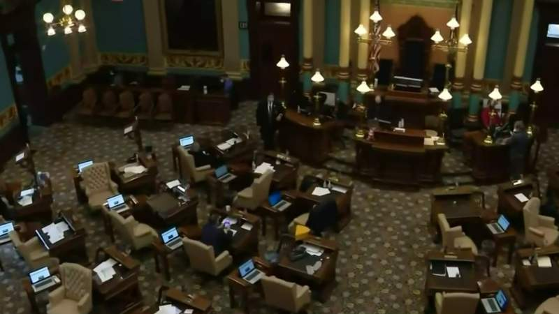 Michigan lawmakers reaction to alleged kidnapping plot against Gov. Whitmer