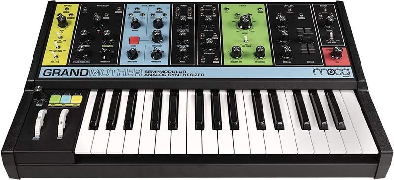 Grandmother semi-modular analog synthesizer.