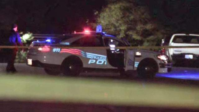 A man was shot and killed Oct. 18, 2018 on Lyndon Street in Detroit. (WDIV)