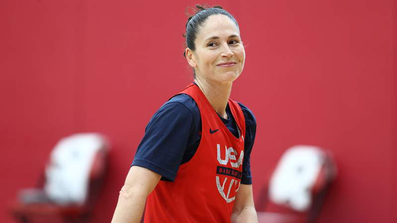 Sue Bird will be one of the flag bearers for the United States during the Opening Ceremony.
