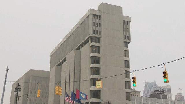 Frank Murphy Hall of Justice (WDIV)