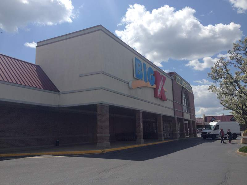 A Big Kmart store in Willow Street, Pennsylvania (store #3810) as it appears on its last day of operation, April 18, 2021. This was one of the last two Kmart stores in Pennsylvania.