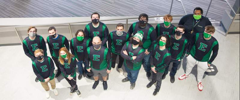 EMU's esports team.