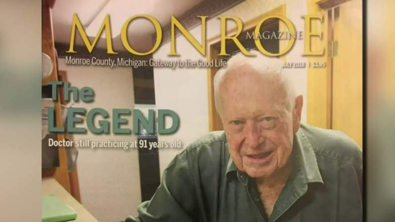 GF Default - Monroe doctor retires after 65 years