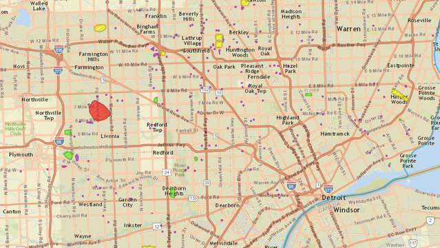 DTE Energy power outage map: Strong storms leave thousands ...