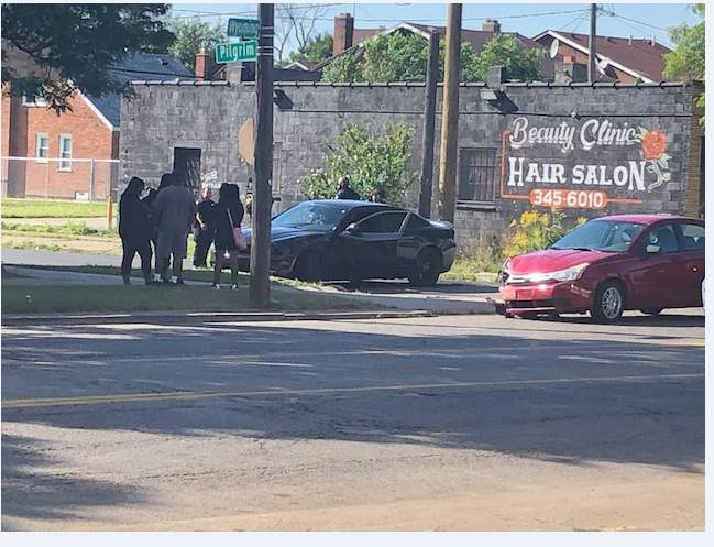 When officers responded to the scene to investigate the shooter returned and allegedly started firing shots at officers and others who were present.
