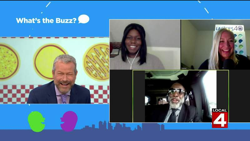 What's the Buzz - Talking about pizza on Live in the D