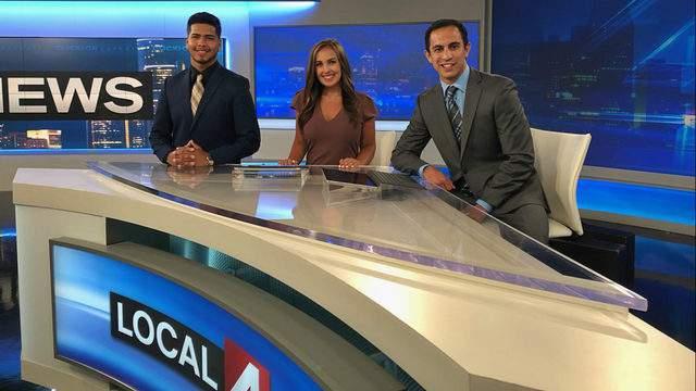 Jorge Reyna, Natalie Kerwin and Sam Arslanian. (WDIV)