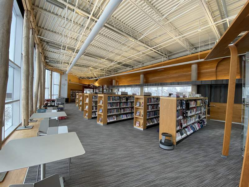 AADL's Traverwood branch has undergone renovations and will reopen on March 2, 2020.