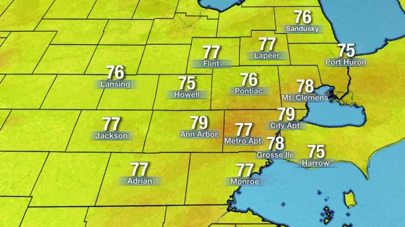 Metro Detroit weather: Tracking weekend rain, July 31, 2020, noon update