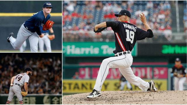 Casey Mize, Daniel Norris and Matt Manning should all be part of the future Detroit Tigers starting rotation (Getty Images)