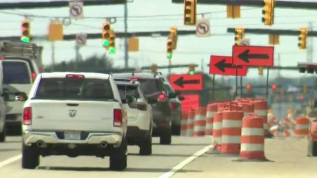 Road construction in Metro Detroit (WDIV)