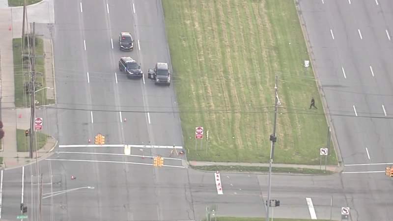 Car hits teen crossing Telegraph Road in Redford, flees