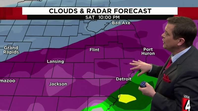 Weather forecast: Metro Detroit under Winter Storm Watch Jan. 10-11, 2020