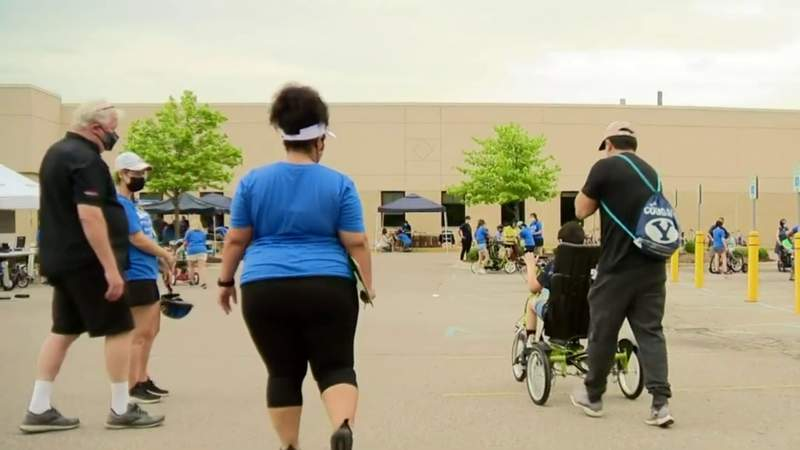 88 special needs kids get customized bikes at Royal Oak Beaumont
