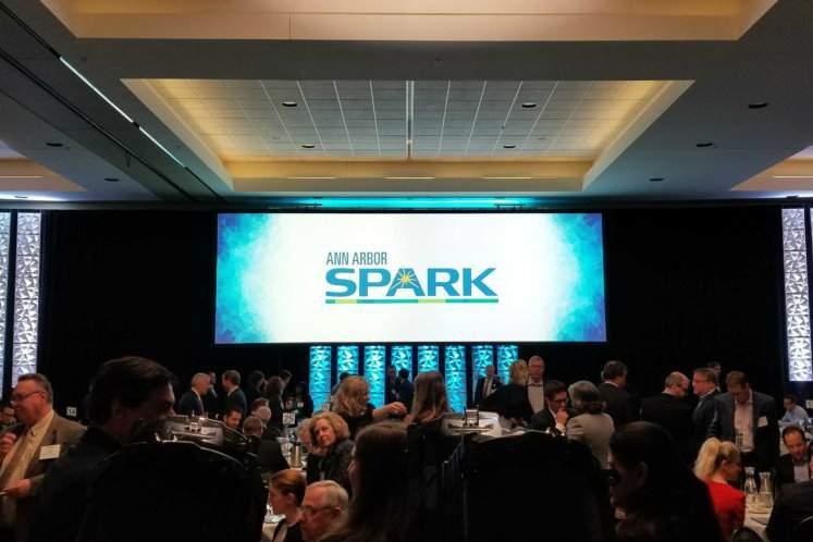 Ann Arbor SPARK's Annual Meeting at EMU's Student Center.