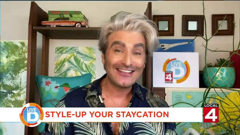 Local 4 Editor Jon Jordan shares ideas on how to style-up your staycation
