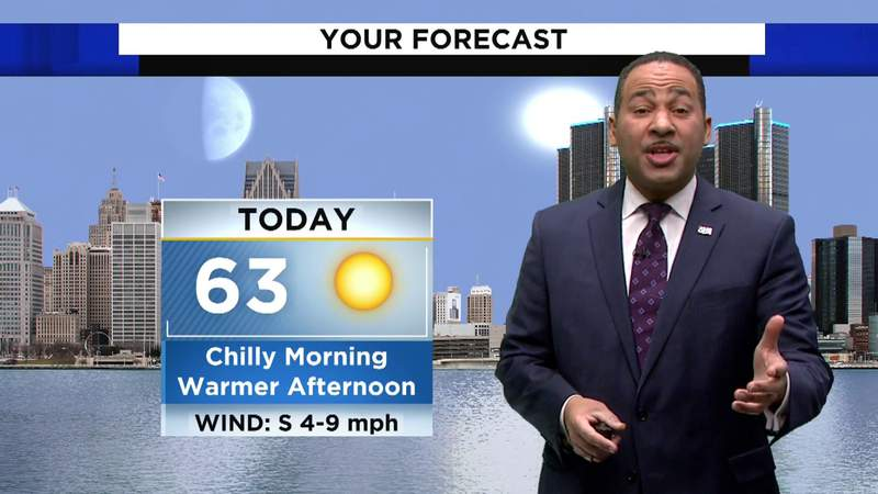 Weather: Sunny and warmer Sunday afternoon